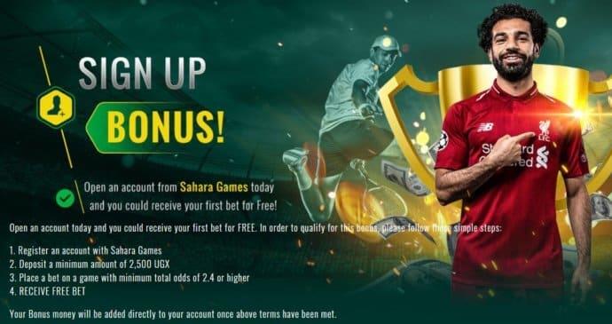 Sahara Games Bonus